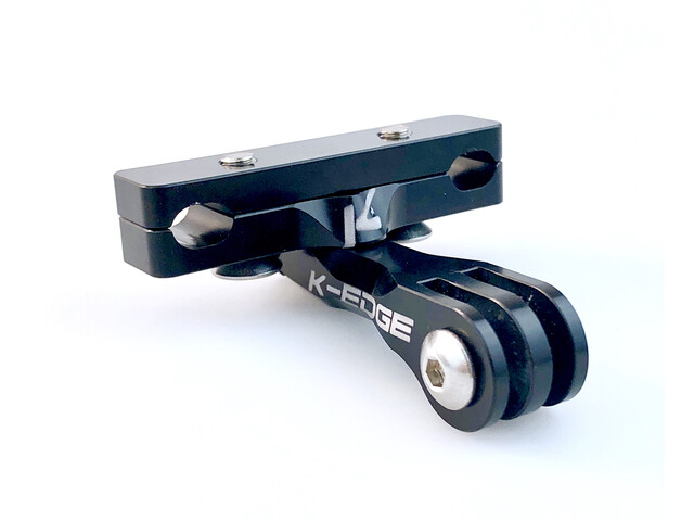 K-EDGE GO BIG GoPro Montaje Rieles Sillín, negro